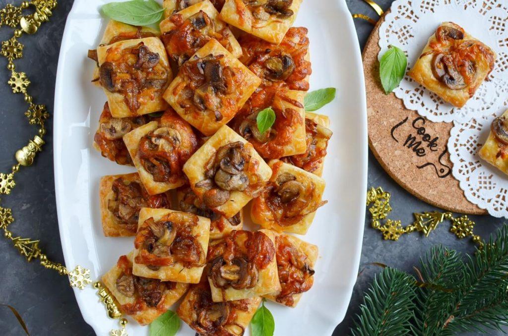 Gruyere, Mushroom & Caramelized Onion Bites Recipe-How To Make Gruyere, Mushroom & Caramelized Onion Bites-Delicious Gruyere, Mushroom & Caramelized Onion Bites
