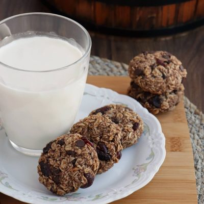 Healthy Breakfast Cookies Recipe-Healthy Breakfast Cookies-Grab and Go Breakfast Cookies