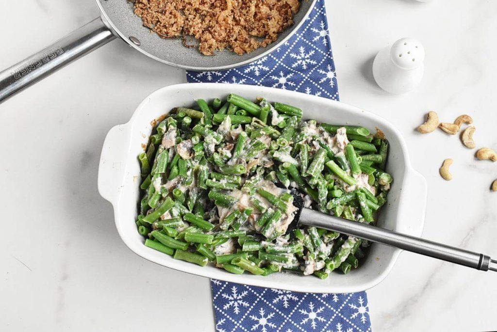 Healthy Vegan Green Bean Casserole recipe - step 8