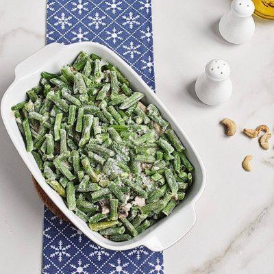 Healthy Vegan Green Bean Casserole recipe - step 6