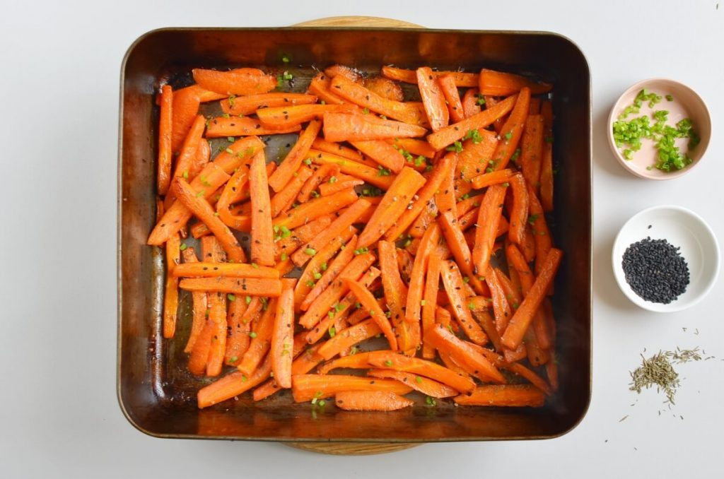 Honey Maple Roasted Carrots recipe - step 5