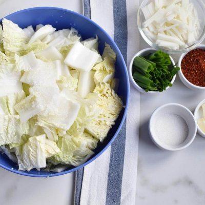 How to Make Kimchi (Kimchee) recipe - step 1