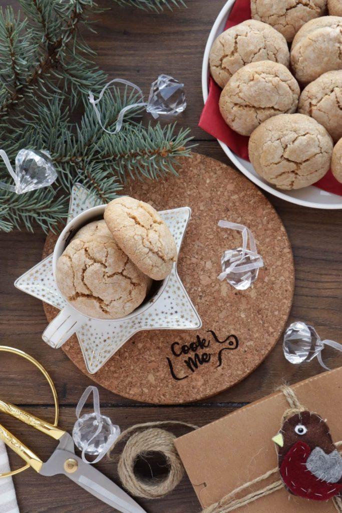 Chewy gentle cookies