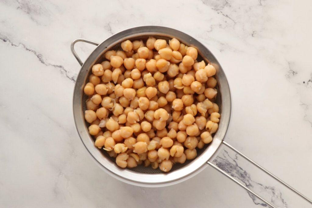 Lemon Beet Hummus recipe - step 1