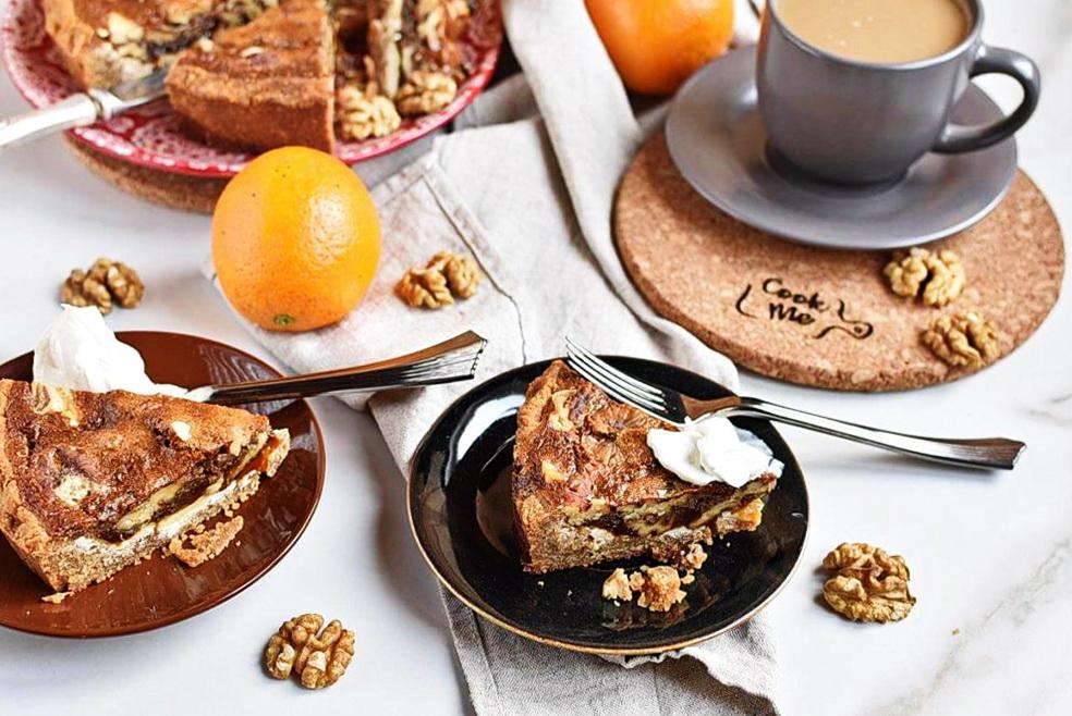 How to serve Malted Walnut Pie