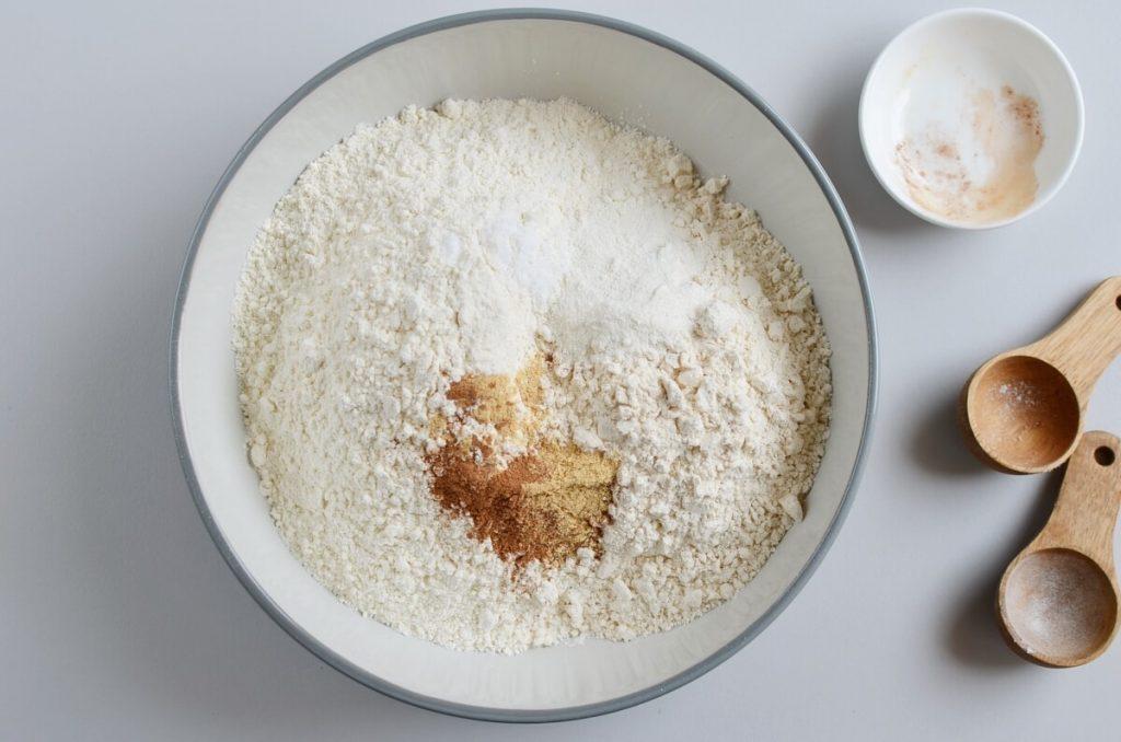 Maple Glazed Gingerbread Scones recipe - step 2