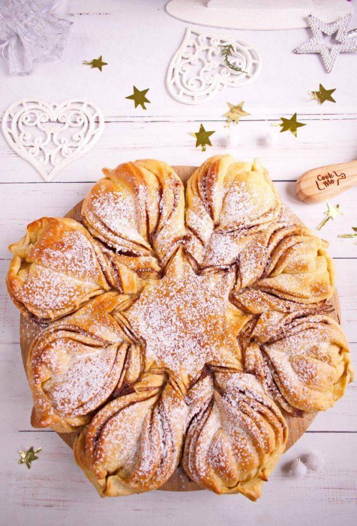 New Year's Star Bread