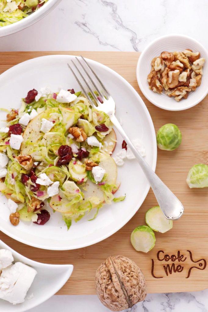 A healthy nutritious salad