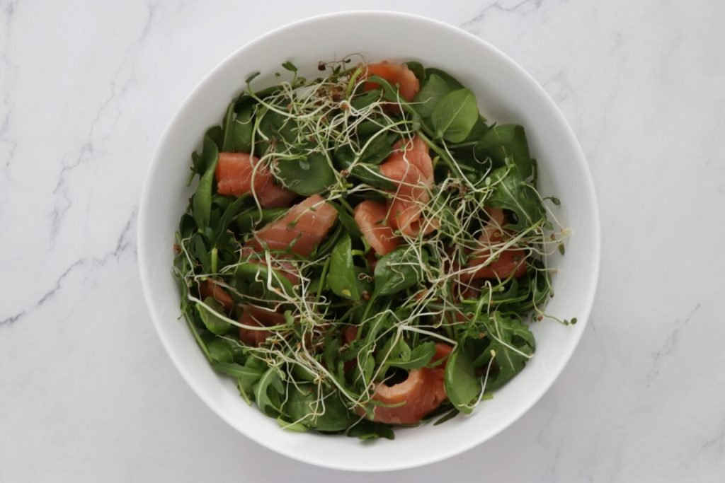 Smoked Salmon Salad recipe - step 1