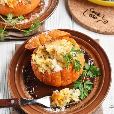 Stuffed Baby Pumpkins Recipes–Homemade Stuffed Baby Pumpkins–Easy Stuffed Baby Pumpkins