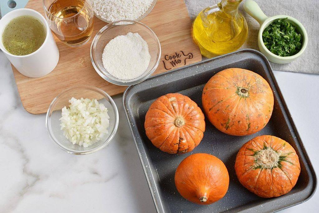 Stuffed Baby Pumpkins recipe - step 2