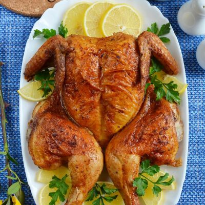 Super-Simple Flat-Roasted Chicken Recipe-How To Make Super-Simple Flat-Roasted Chicken-Delicious Super-Simple Flat-Roasted Chicken