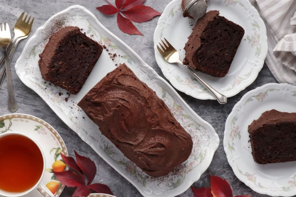 How to serve Sweet Potato Chocolate Cake