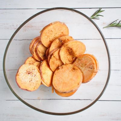 Sweet Potato Rounds with Herbed Ricotta recipe - step 3