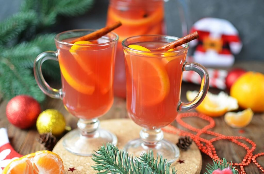 How to serve The Best Mulled Wine Recipe