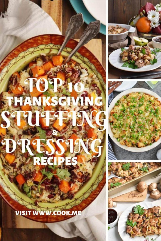 Top 10 Thanksgiving Stuffing & Dressing Recipes