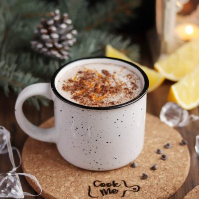 Vegan Orange Hot Chocolate Recipe-Orange Spice Hot Chocolate-Orange Hot Chocolate