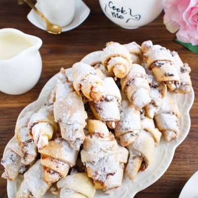 Walnut Rugelach recipe-Apricot Walnut Rugelach-How to make Apricot Walnut Rugelach
