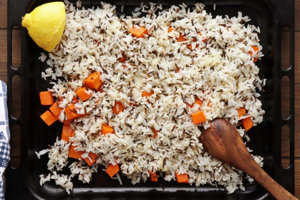 Warm Christmas Rice Salad recipe - step 6