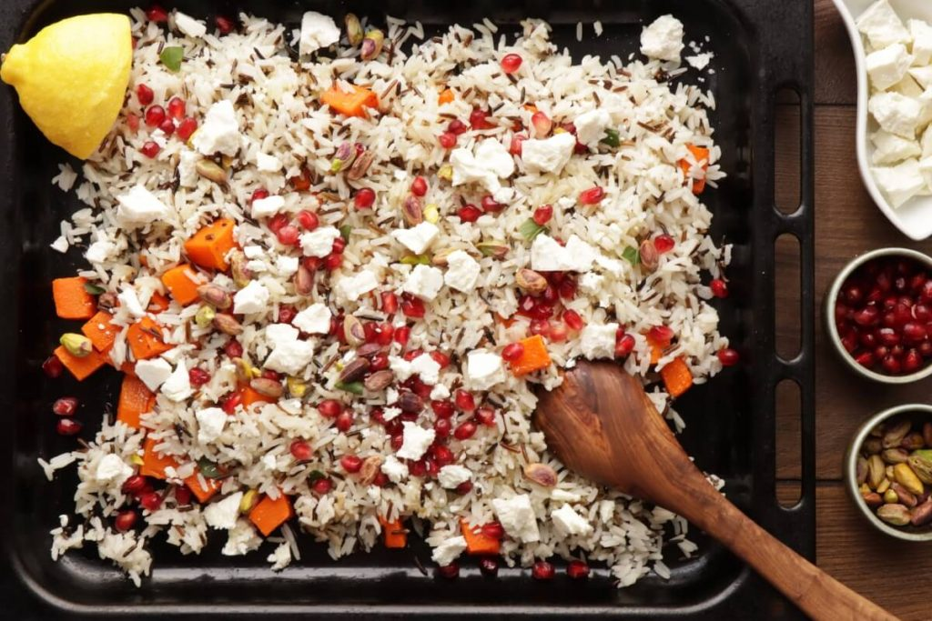 Warm Christmas Rice Salad recipe - step 7