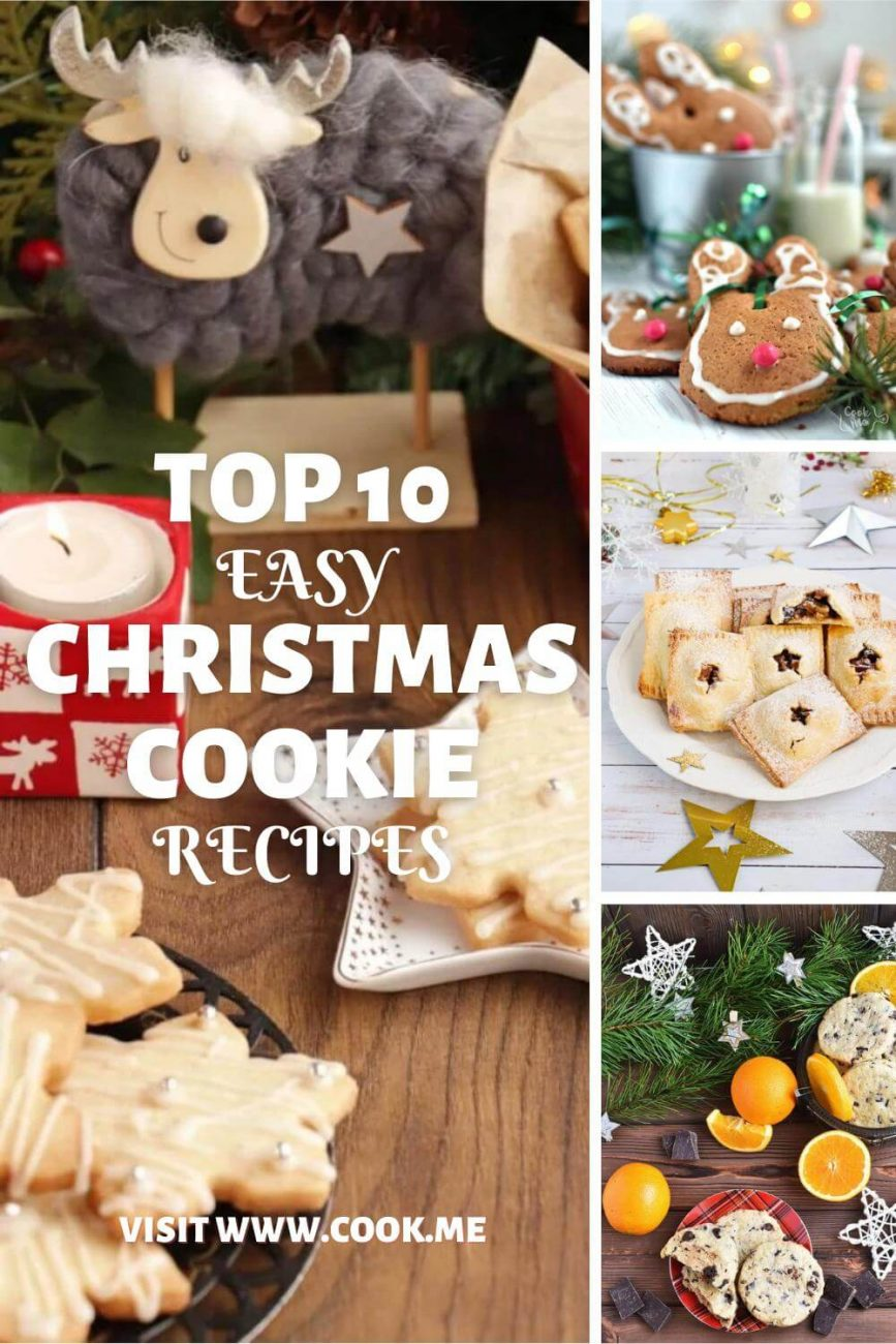 top Christmas Cookie Recipes-Easy Christmas Cookies - Best Recipes for Holiday Cookies