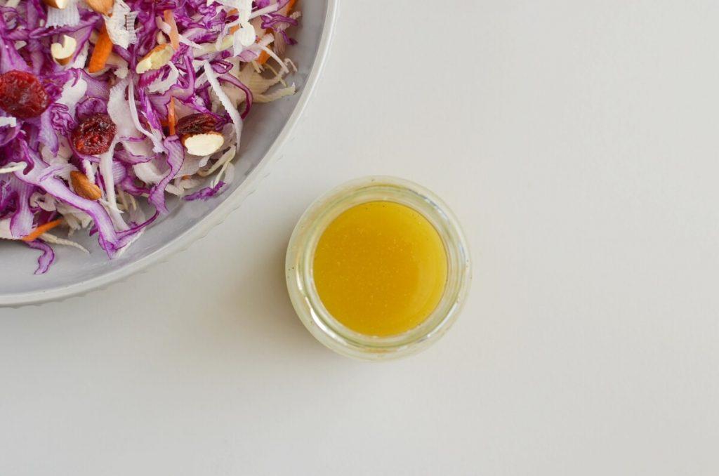 Apple Cranberry Almond Coleslaw Salad recipe - step 2