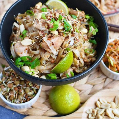 Best Ever Pad Thai Recipes–Homemade Best Ever Pad Thai–Easy Best Ever Pad Thai