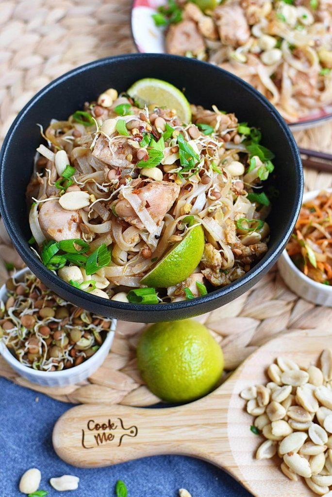 Delicious Thai noodle dish