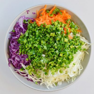 Best Healthy Coleslaw Ever No Mayo recipe - step 1