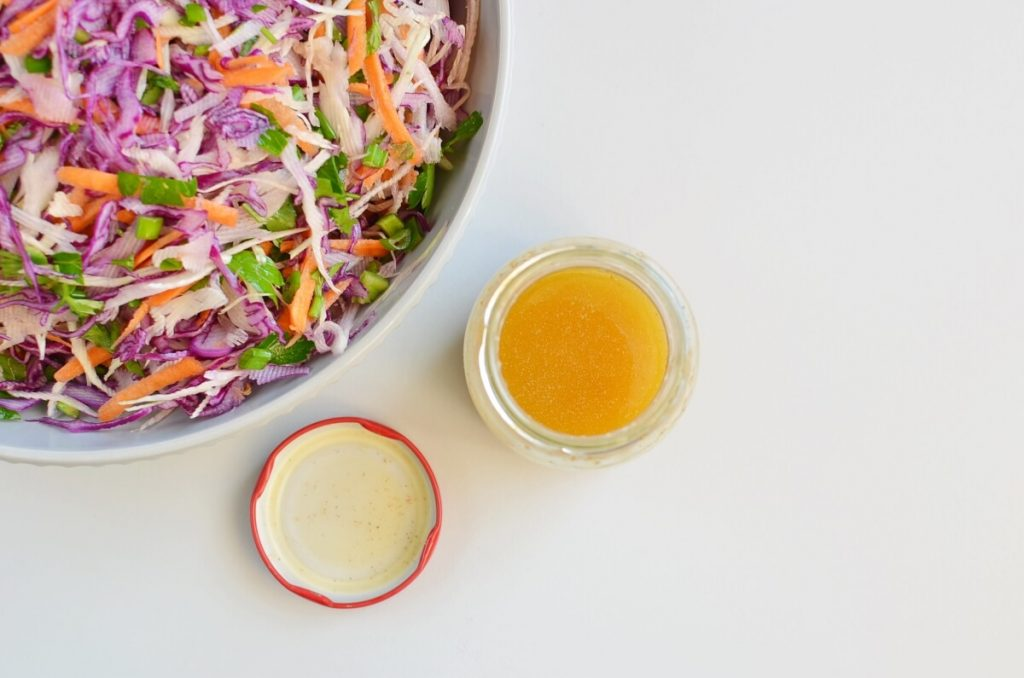 Best Healthy Coleslaw Ever No Mayo recipe - step 2