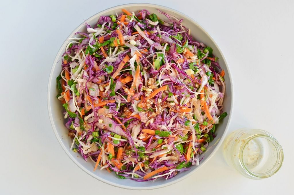 Best Healthy Coleslaw Ever No Mayo recipe - step 3