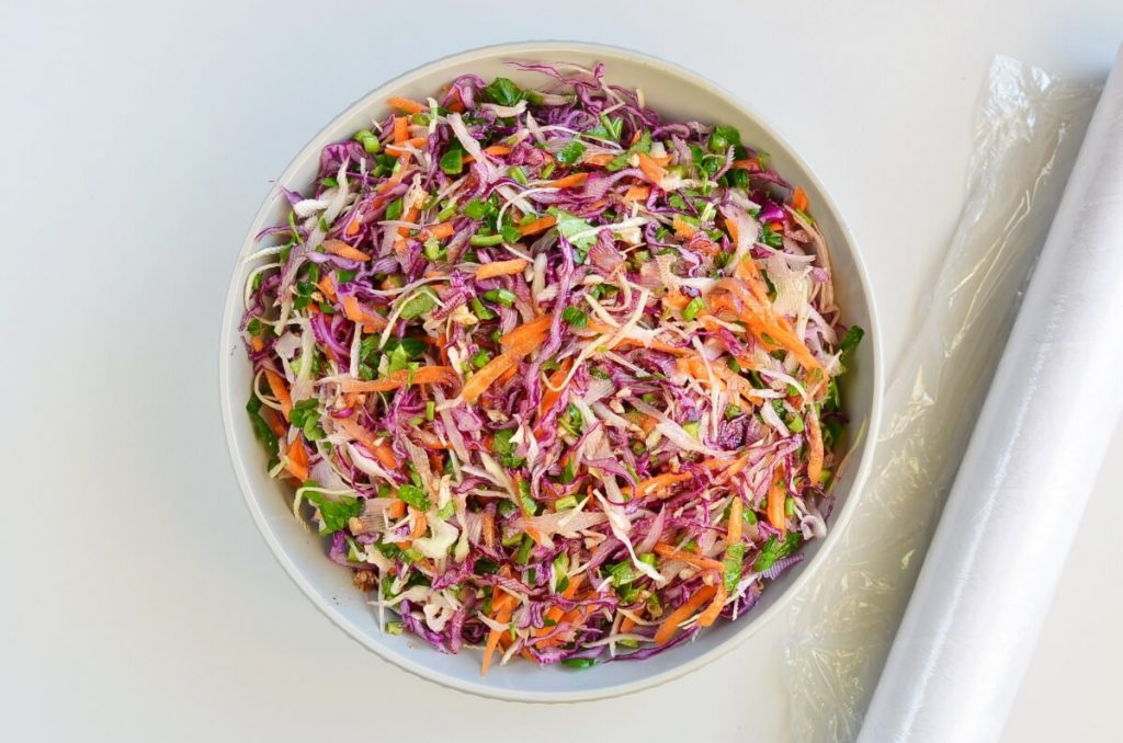 Best Healthy Coleslaw Ever No Mayo recipe - step 4