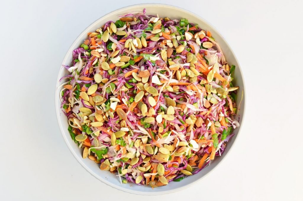 How to serve Best Healthy Coleslaw Ever No Mayo