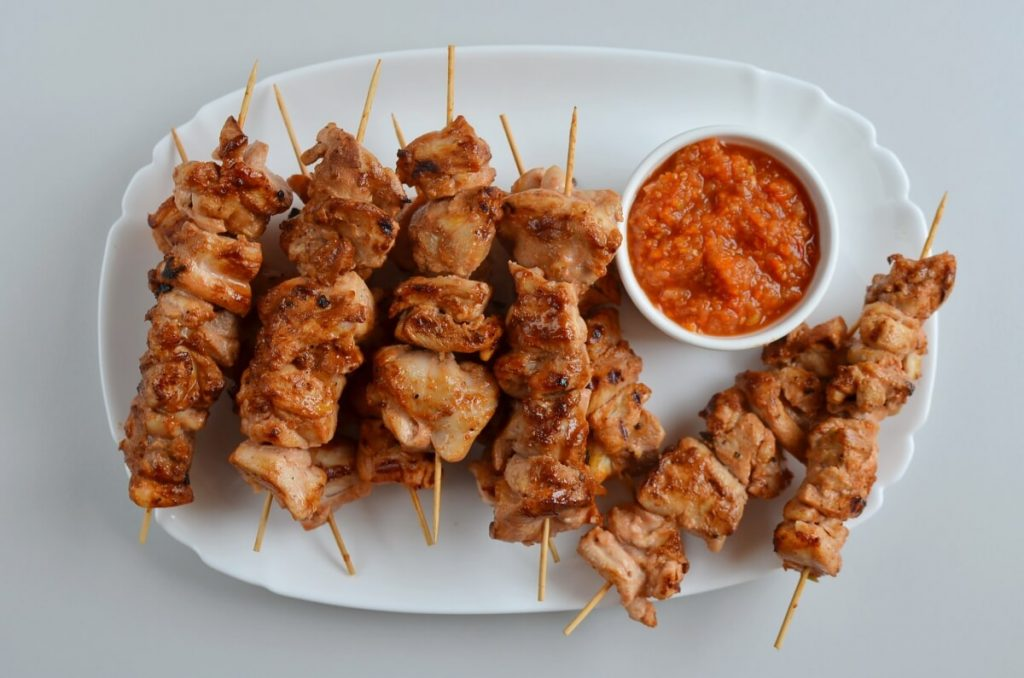 How to serve Buttermilk & Honey Chicken Kabobs