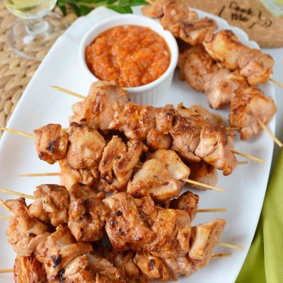 Buttermilk-and-Honey Chicken Kabobs Recipe-How To Make Buttermilk-and-Honey Chicken Kabobs-Delicious Buttermilk-and-Honey Chicken Kabobs