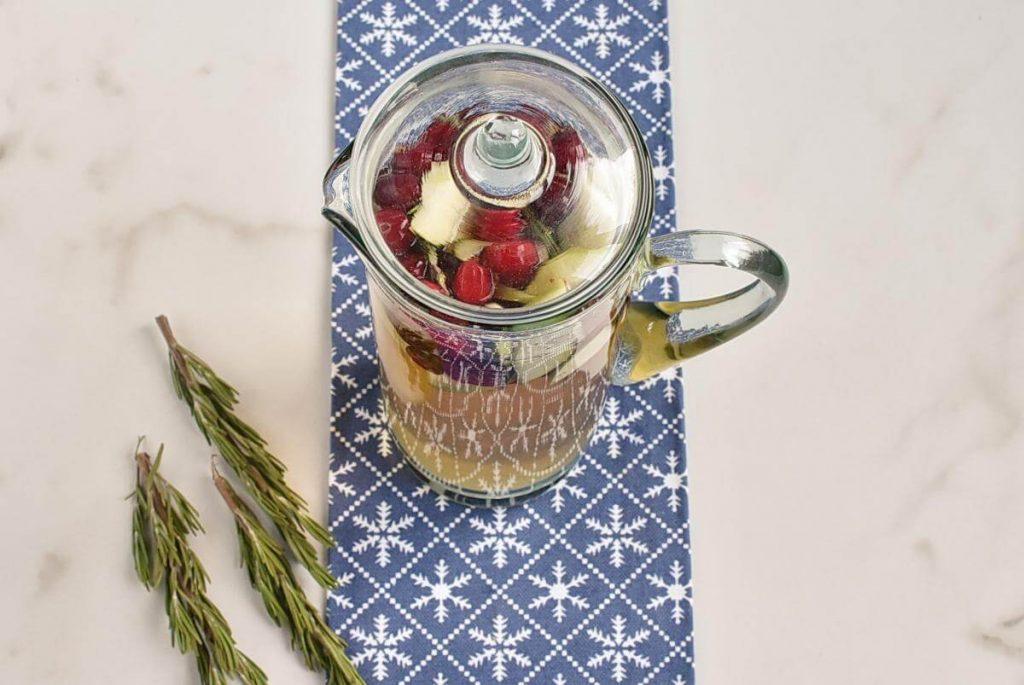 White Christmas Sangria recipe - step 3