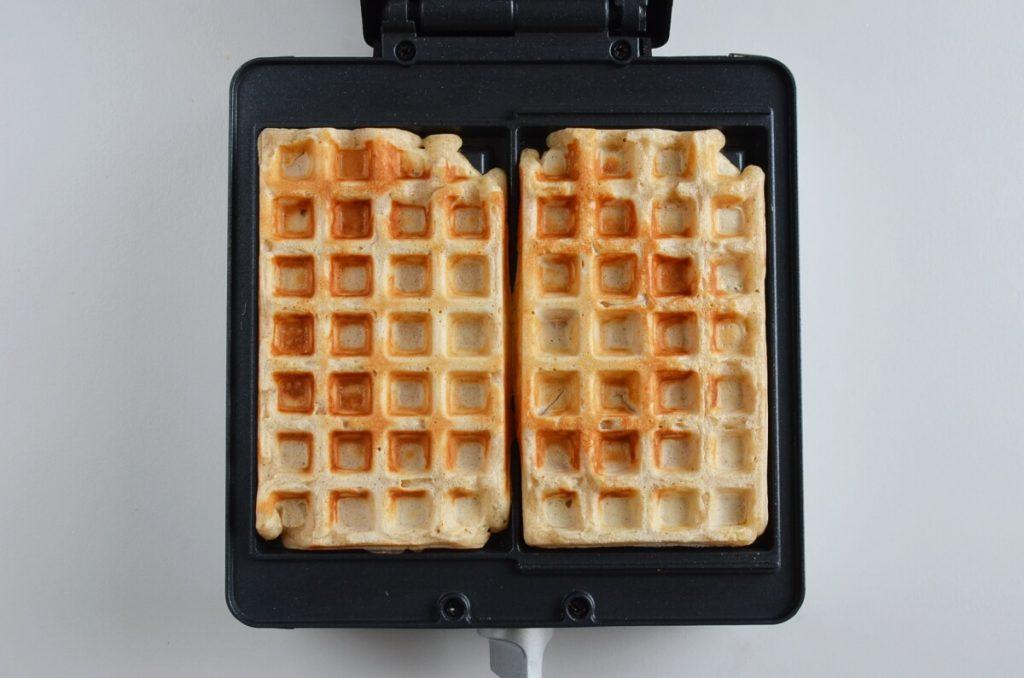 Cinnamon Roll Waffles recipe - step 6