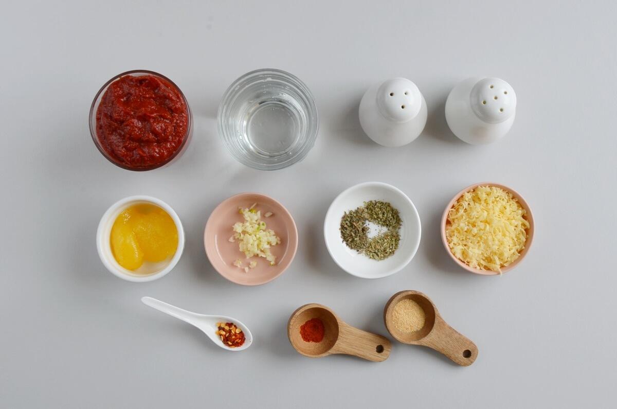 Ingridiens for Exquisite Pizza Sauce