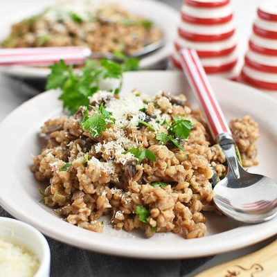 Farro Risotto Recipes–Homemade Farro Risotto–Easy Farro Risotto