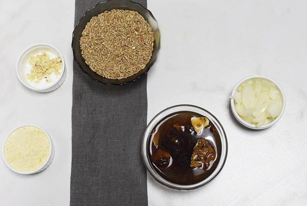 Farro Risotto recipe - step 1