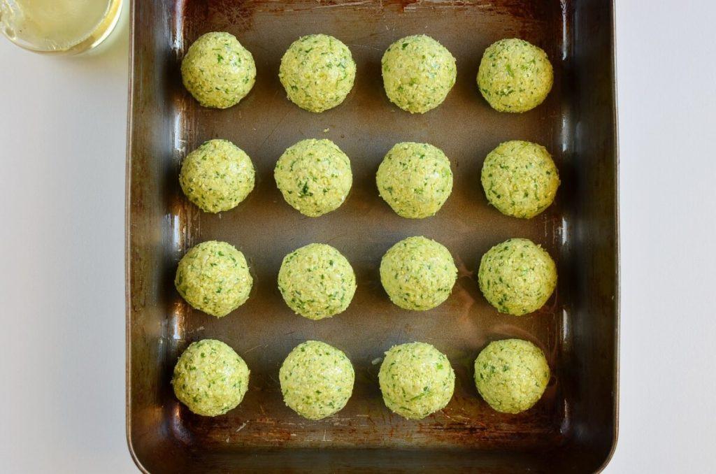 Healthy & Delicious Baked Falafel recipe - step 6