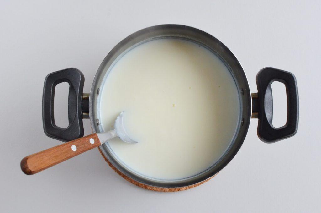 Homemade Eggless Vanilla Custard recipe - step 2