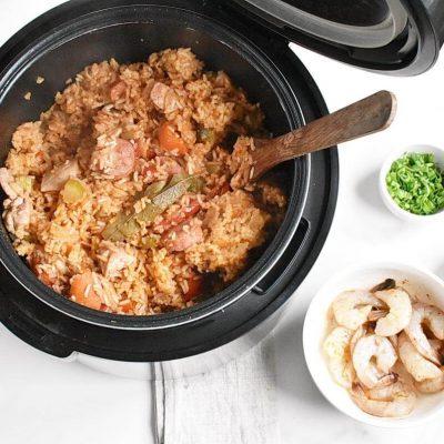 Instant Pot Jambalaya recipe - step 8