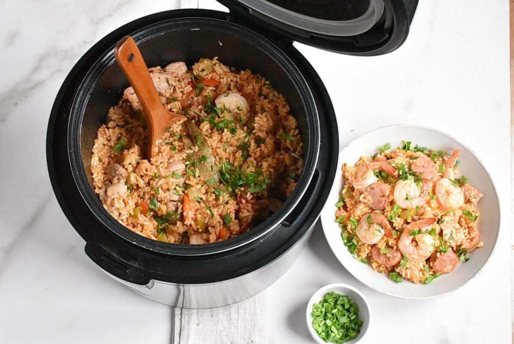 How to serve Instant Pot Jambalaya