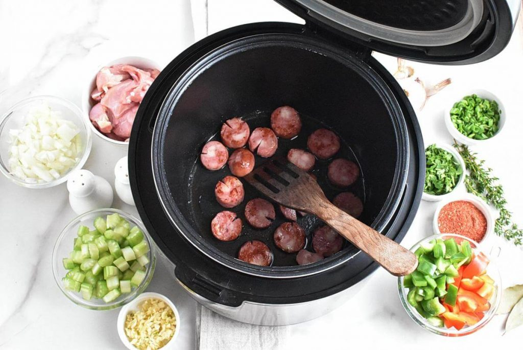 Instant Pot Jambalaya recipe - step 2