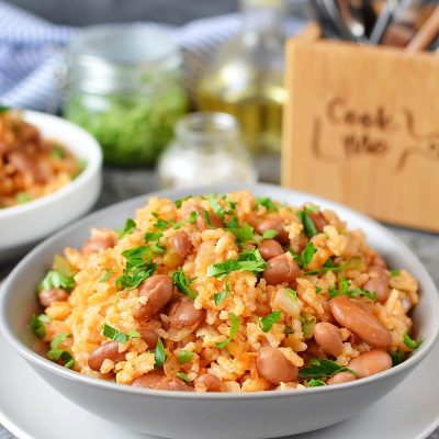 Mexican Rice and Beans Recipe-How To Make Mexican Rice and Beans-Delicious Mexican Rice and Beans