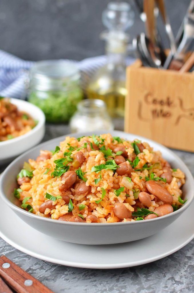 Mexican Rice And Beans Recipe Cook Me Recipes