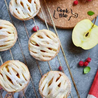 Mini Apple Pies Recipe-How To Make Mini Apple Pies-Delicious Mini Apple Pies