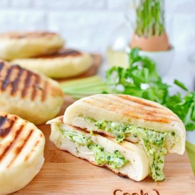 Mozzarella-Pesto-Naan-no-yeast-Recipe-How-To-Make-Mozzarella-Pesto-Naan-Delicious-Mozzarella-Pesto-Naan