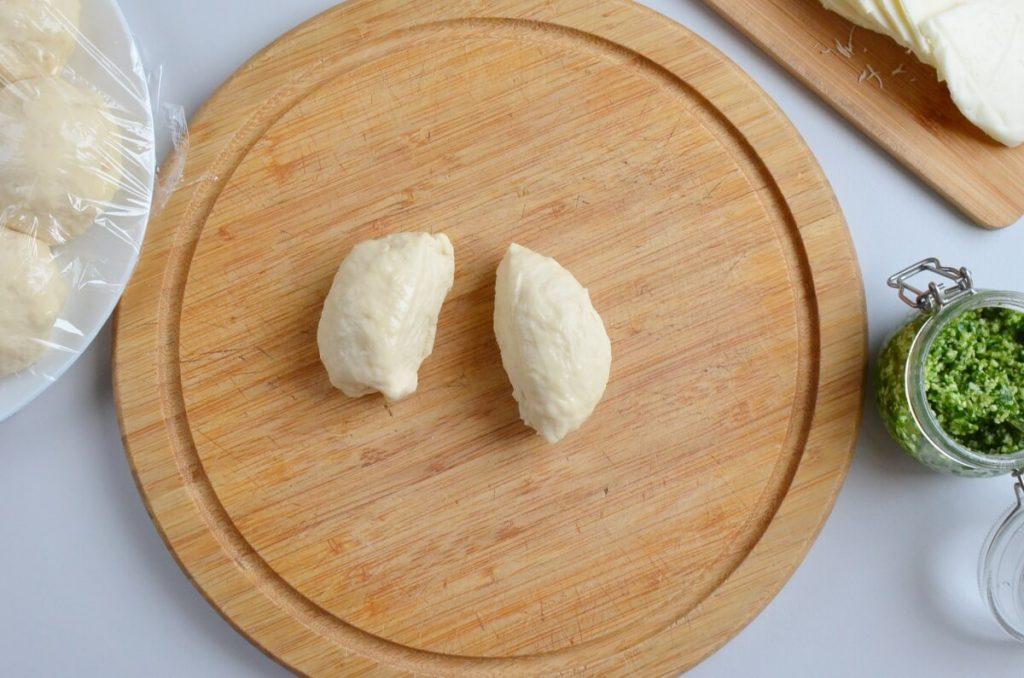 Mozzarella Pesto Naan (no-yeast) recipe - step 5